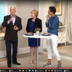 Presenting on QVC With Host Dan Hughes